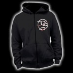 DS - Hooded Zipper - Logo on Front